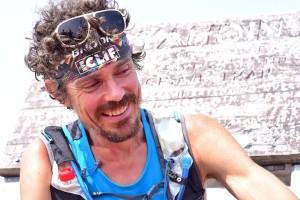 World-class ultramarathon runner Scott Jurek finishes his 2,180-mile run of the Appalachian Trail atop Mount Katahdin on Sunday, July 12, 2015.  Luis Escobar | Reflections Photography Studio